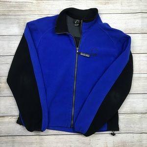 SIERRA DESIGNS Windstopper fleece zip up jacket L